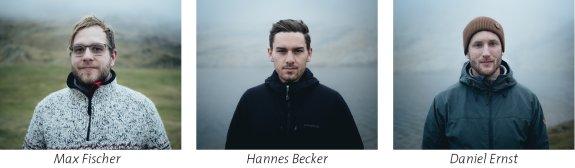 Max Fischer Hannes Becker Daniel Ernst