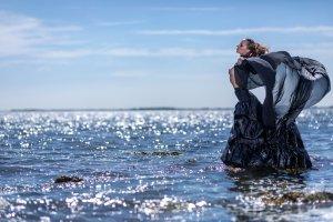 Frau im Wasser beim Rollei Shooting mit Harald Kröher-0Q2A2016 1