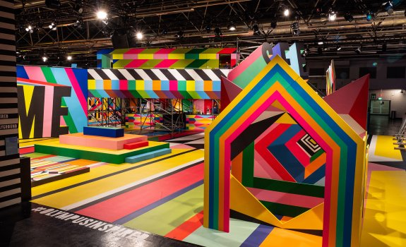 Perspective Playground 2018 Morag Myerscough und Luke Morgan