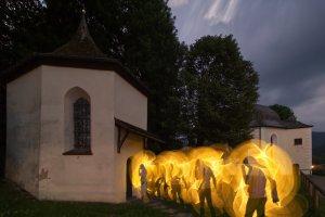 Loretto Kapelle Lightpaint