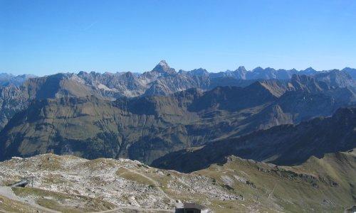 Bergblick Nebelhorn