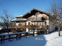Winterbild Haus