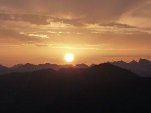 Walmendinger Horn Sonnenaufgang