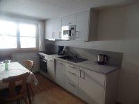 Ferienwohnung Panoramablick helle neue Einbauküche