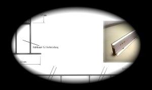 Einbauprofil Edelstahl