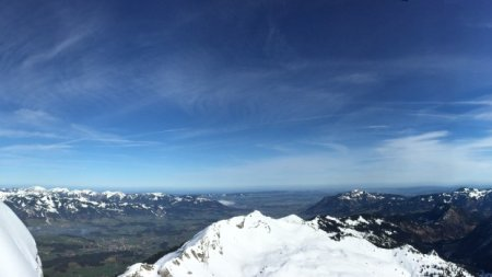Grüntenblick vom Nebelhorn Nord-Ost-Seite