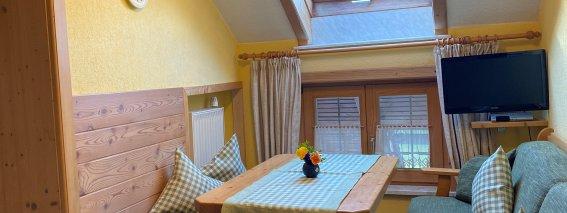 Küche Ferienwohnung Burgwohnung