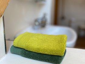 Badezimmer Ferienwohnung Illerschleife