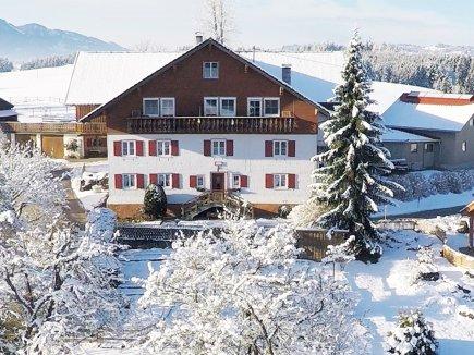 Gablerhof im Winterkleid