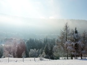 Winterpanorama Rottach