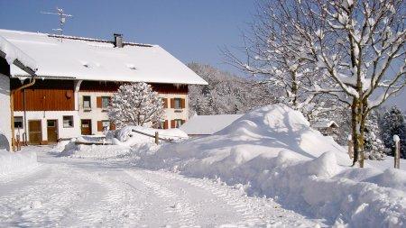 Gablerhof im Winter