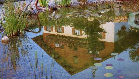 Gablerhof Spiegelbild