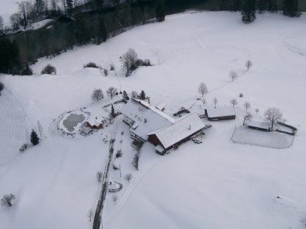 Luftbild Winter