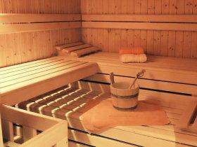 Wohlige Wärme in der Sauna