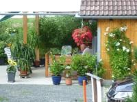 Unsere gemütliche Gartenecke und Grillplatz