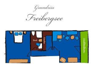 Grundriss Freibergsee