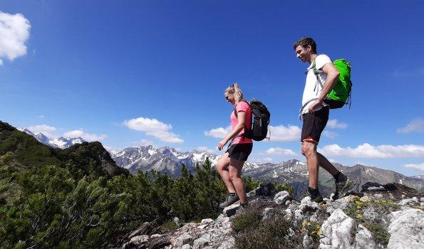 Bergtour auf Himmelschrofen