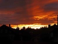 Sundown in Wertach
