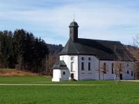 St. Sebastian Kapelle ( kleine Wies ) in Wertach