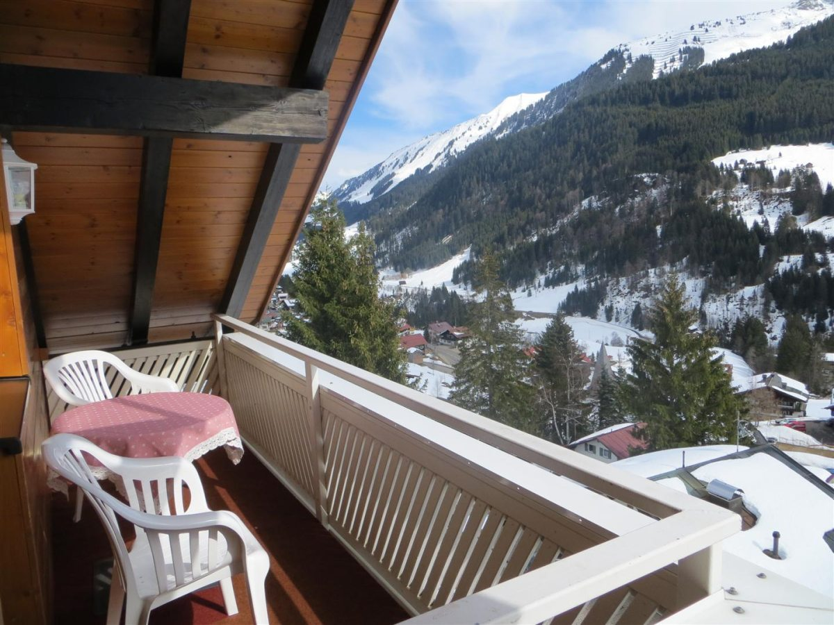 Ferienwohnung Panorama - Balkon