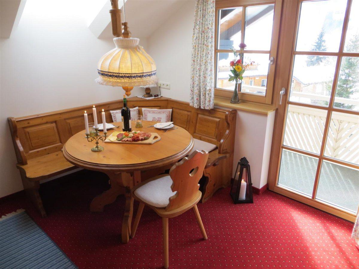 Ferienwohnung Widderstein - Essecke