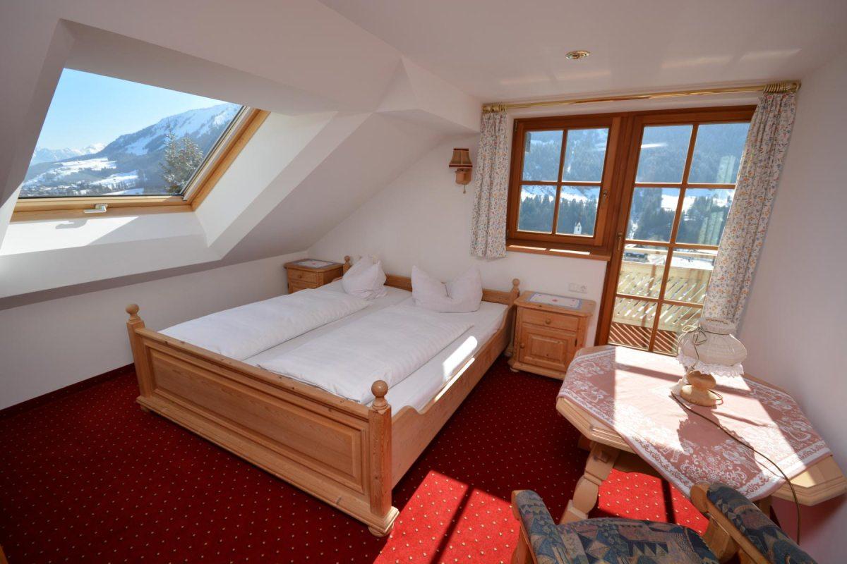 Ferienwohnung Panorama- Schlafzimmer 2