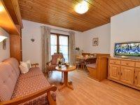 Gästehaus Brutscher, Oberstdorf, Wohnung 2, Wohnzimmer