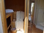 Private Sauna im Badezimmer