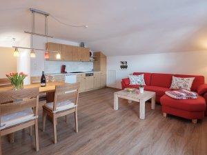 Wohnküche Ferienwohnung 3