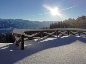 Blick von der Alpe Ornach