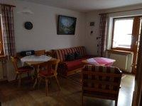 Ferienwohnung 1 - Wohnraum