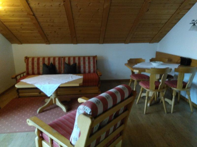 Ferienwohnung 3 - Wohnraum