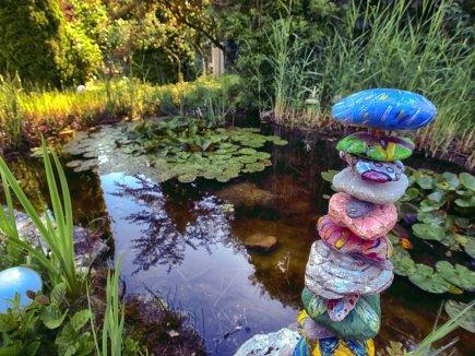 Garten Biotop