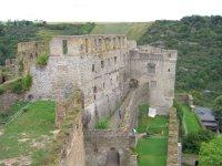 Burg Rheinfels von oben