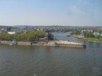 Das Deutsche Eck bei Koblenz