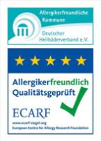 Logo Allergikerfreundlich