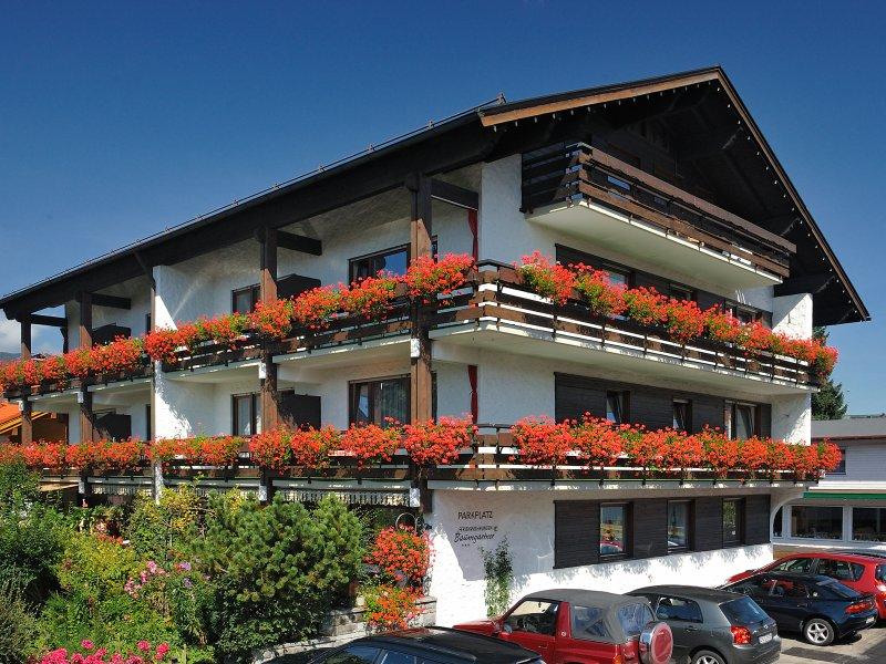 Gästehaus Baumgartner im Sommer