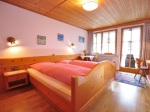 Ferienwohnung Aussicht Schlafzimmer