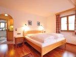 Apartment Edelweiss Schlafzimmer