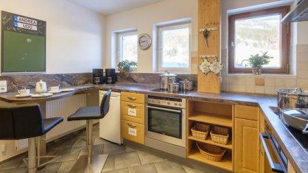 Küche zum Aufenthaltsraum