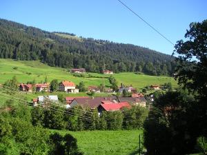 Blick ins Dorf