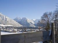Frischverschneites Oberstdorf