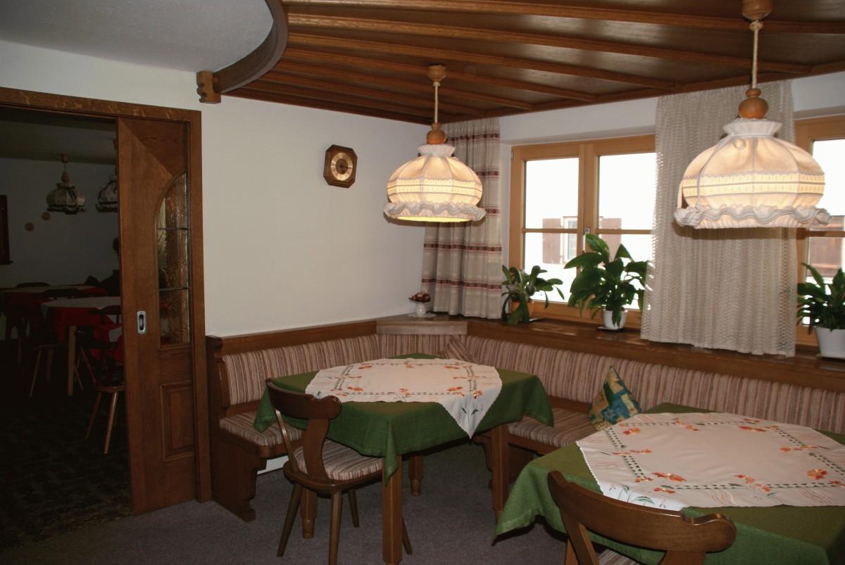 Aufenthalts- und Frühstücksraum