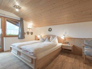 Ferienwohnung Hochvogel Schlafzimmer