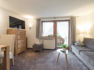 Ferienwohnung  StraussbergWohnzimmer