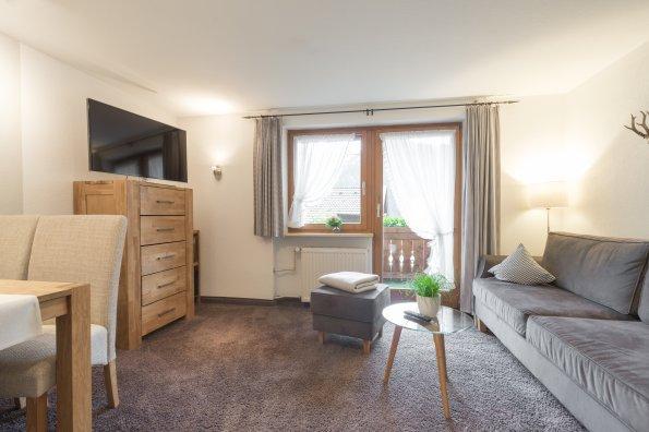 Ferienwohnung Straussberg Wohnzimmer