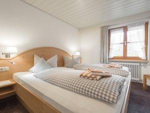 Ferienwohnung Straussberg Schlafzimmer