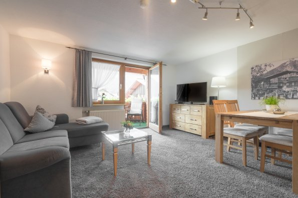 Ferienwohnung Rotspitzstube Wohnzimmer