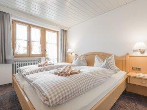 Ferienwohnung Rotspitzstube Schlafzimmer