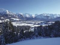 Winteransicht von Oberstdorf
